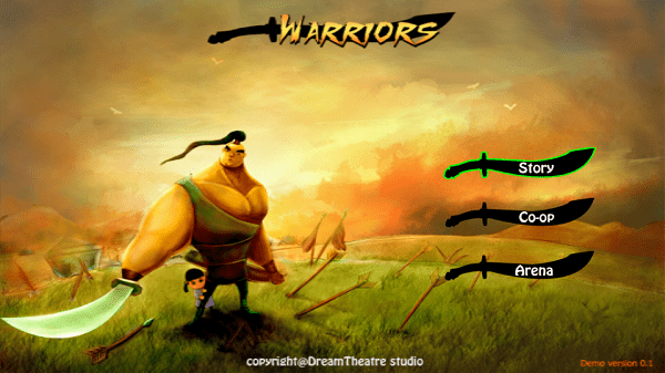 Warriors Du an game ARPG moi cua Dream Theatre Studio 3 - Warriors - Dự án game mobile Việt mới