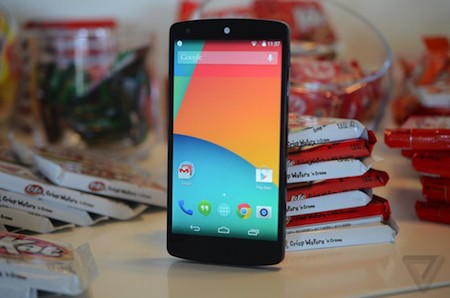 """Nexus5 11 5f1be - Nexus 5 bất ngờ ra mắt với cấu hình """"khủng"""""""