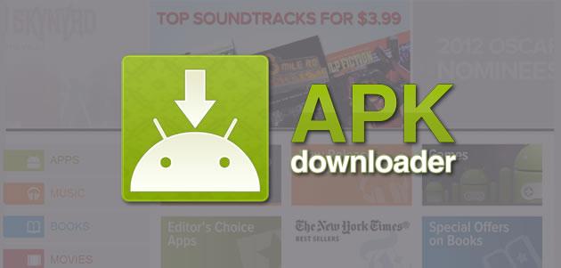 apk downloader 2 - Mẹo tải về tập tin APK trên Google Play Store