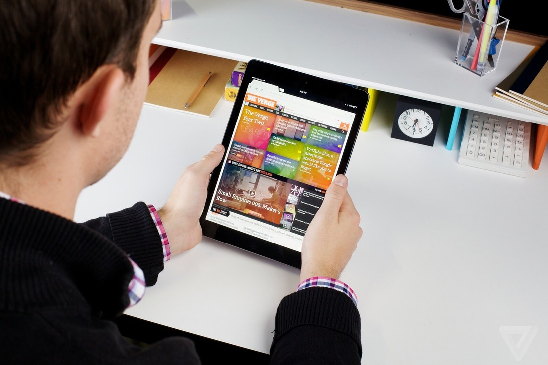 iPad Air1 - Mẹo tăng thời lượng pin cho iPad Air