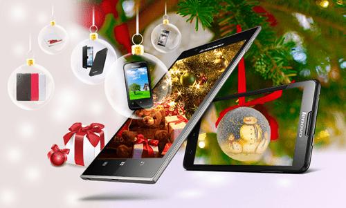 Lenovo GS 1 - Mua smartphone Lenovo, nhận quà Giáng sinh hấp dẫn