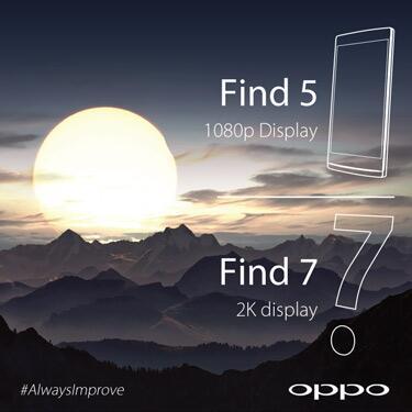 Oppo Find 7 - OPPO Find 7 không có màn hình 5,7 hay 7 inch