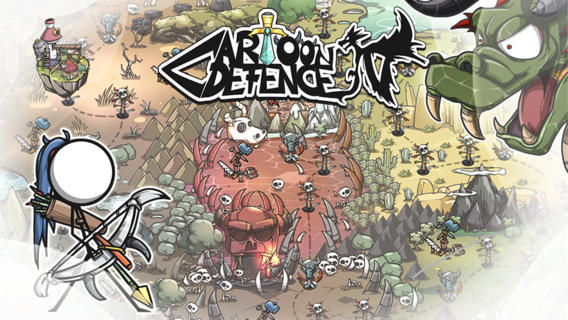 cartoon 1 - [iOS - Miễn phí] Cartoon Defense 4 - Bảo vệ toà tháp