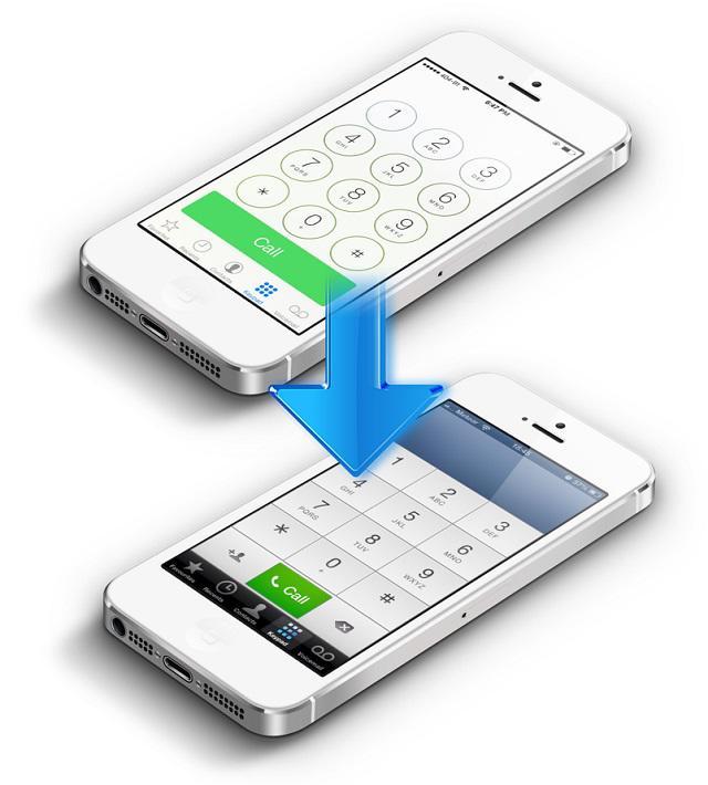 ios 7 to ios 6 downgrade - [iOS] Hướng dẫn hạ từ iOS 7.1 xuống 7.0.4