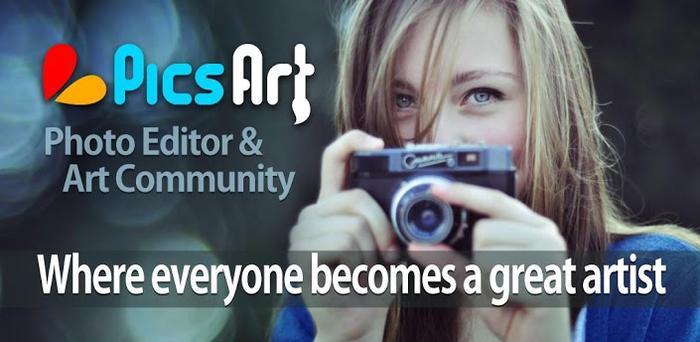 picsart photo studio main - [WP8] PicsArt - Sáng tạo những hình ảnh tuyệt vời từ Nokia Lumia