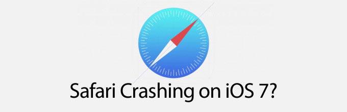 safari crashes on ios 7 - [iOS 7] Khắc phục lỗi Safari bị treo