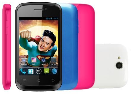 zip3g demo - HKPHONE ZIP 3G: Smartphone giá rẻ, dưới 1,5 triệu đồng