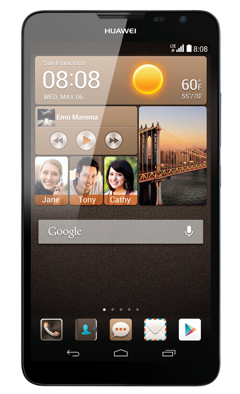 Huawei Ascend Mate2 4G Black - CES 2014: HUAWEI Ascend Mate2 4G trình làng