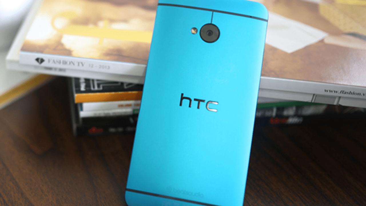 One Blue 1 - FPT Shop: Bán HTC One màu xanh từ 25/1