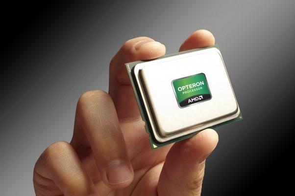 Opteron 6300 Series hand metallic background - AMD bổ sung nhân cho dòng bộ xử lý Opteron 6300