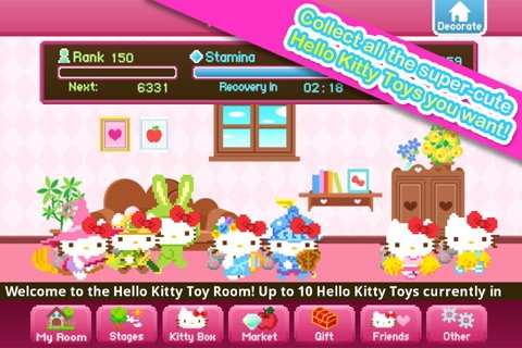 hello kitty 1 - [Android] Hello Kitty Tap and Run: Game runner phong cách Hello Kitty