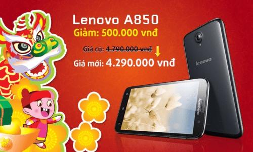 hinh1 2387 1389504682.jpg - Lenovo A850 và Lenovo A516 giảm giá kích cầu