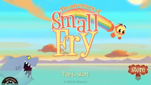 small fry 1 - [Android] Small Fry - Cuộc phiêu lưu của chú cá Small Fry