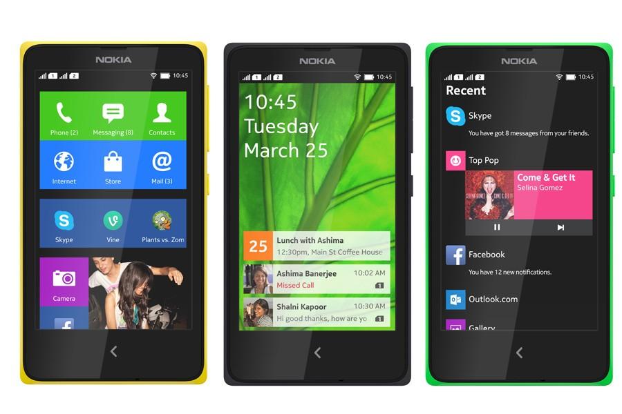 Nokia X 2 - Bộ ba smartphone Nokia Android giá từ 2,6 triệu đồng