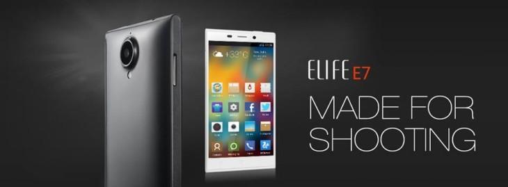 gIONEE - Gionee Elife E7 bán tại Việt Nam, giá từ 9 triệu đồng