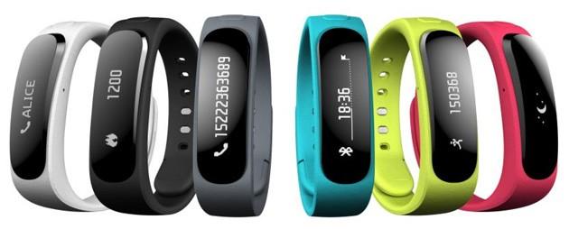 huawei talkband b1 mwc 2014 - Huawei công bố thiết bị đeo tay đầu tiên