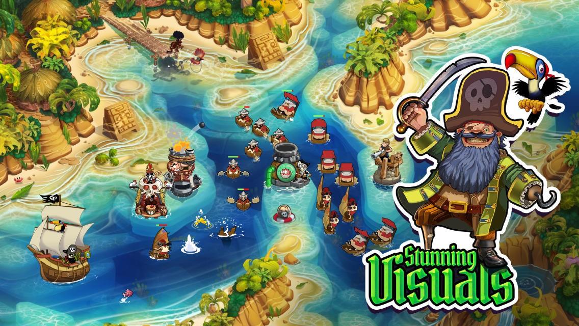 pirate legend td - Ứng dụng / Game giảm giá miễn phí trên Appstore ngày 24/2/2014