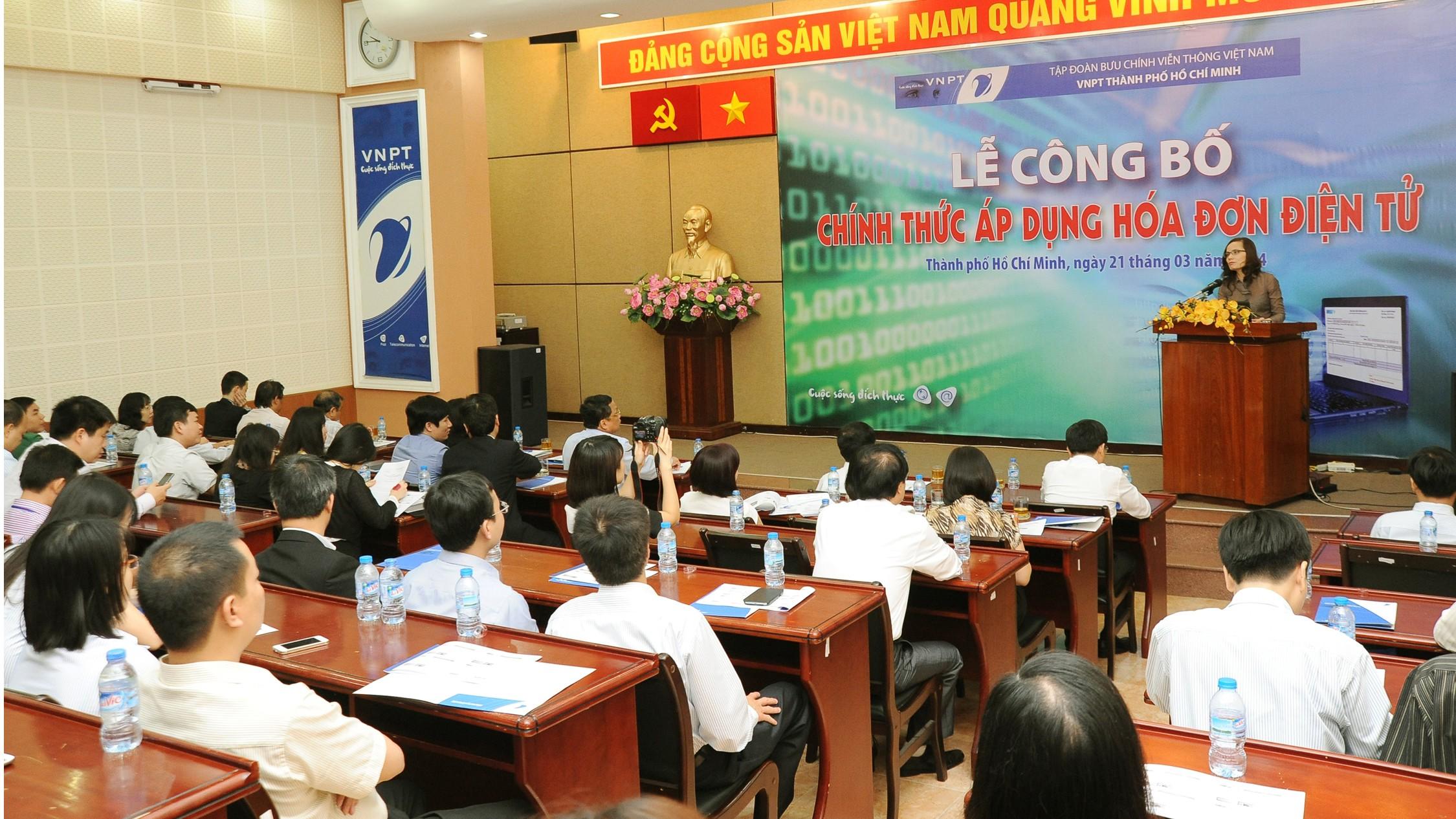 8653.B.Phuong - VNPT TP.HCM thí điểm hóa đơn điện tử