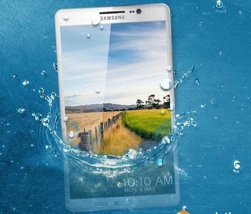 GalaxyS5 - Note 4, LG G3 và Vega Iron 2 sẽ có tính năng chống nước