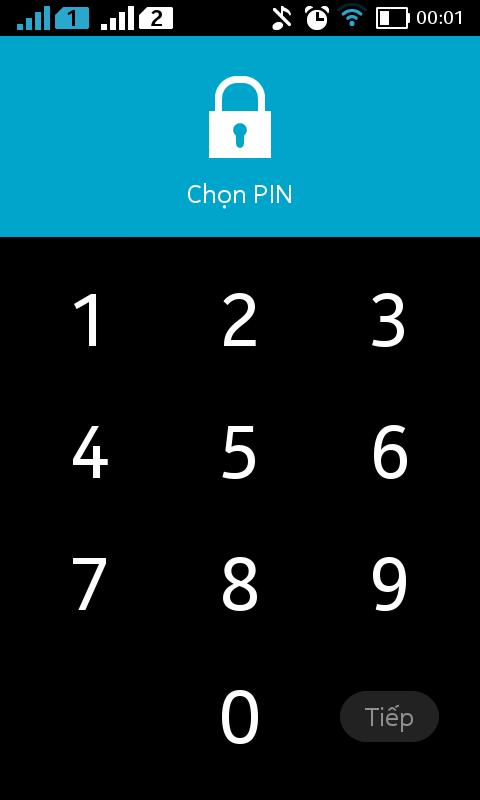 bao mat nokia x 3 - Cách bật màn hình khóa trong Nokia X