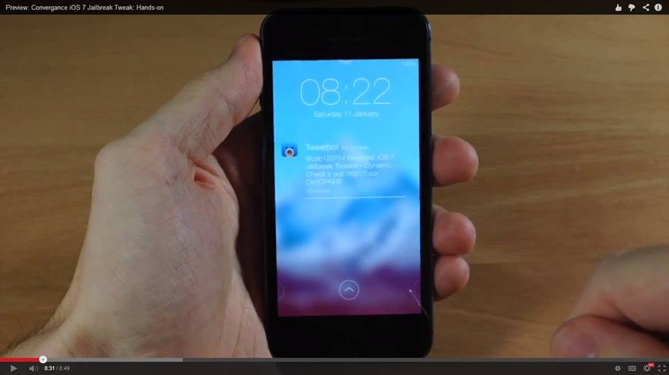 convergance ios7 winterboard theme - 10 bộ giao diện iOS 7 tuyệt đẹp
