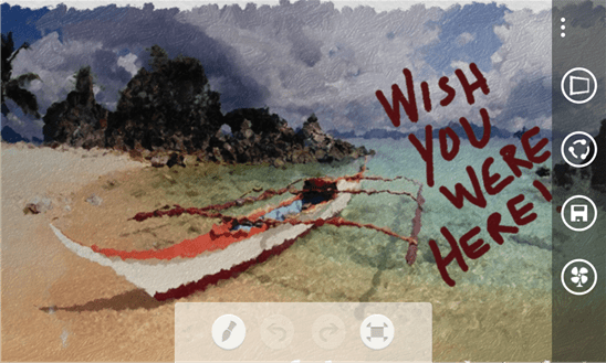 fresh paint 1 - Fresh Paint: Vẽ vời trên Windows Phone