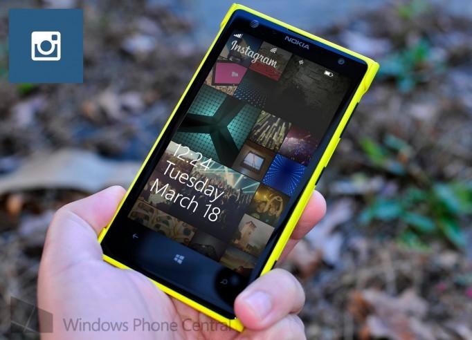 instagram beta windows phone 8 - Instagram cho WP đã hỗ trợ màn hình khóa