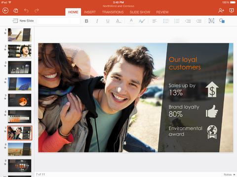 microsoft powerpoint for ipad 1 - Tải về Microsoft PowerPoint for iPad