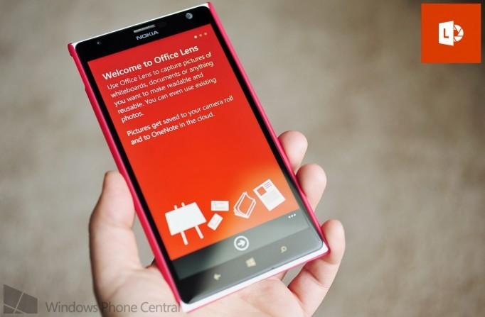 office lens - Office Lens: Biến Windows Phone thành máy quét
