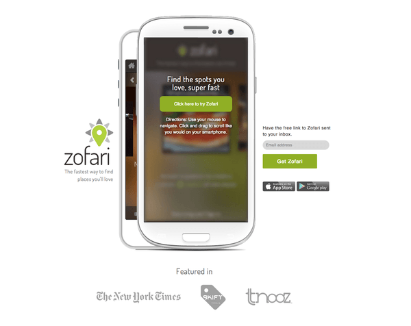 Zofari Screenshot 1