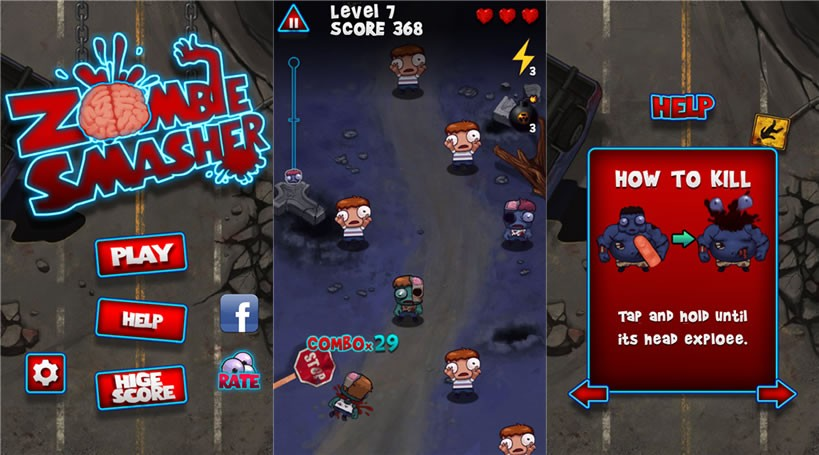 zombie smasher - Zombie Smasher: Tiêu diệt thây ma