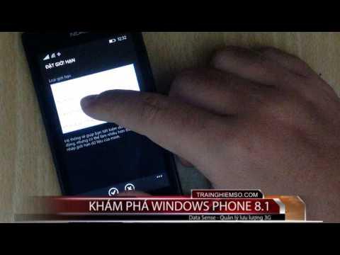data sense wp 8.1 - [Video] Quản lý lưu lượng 3G trên Windows Phone 8.1