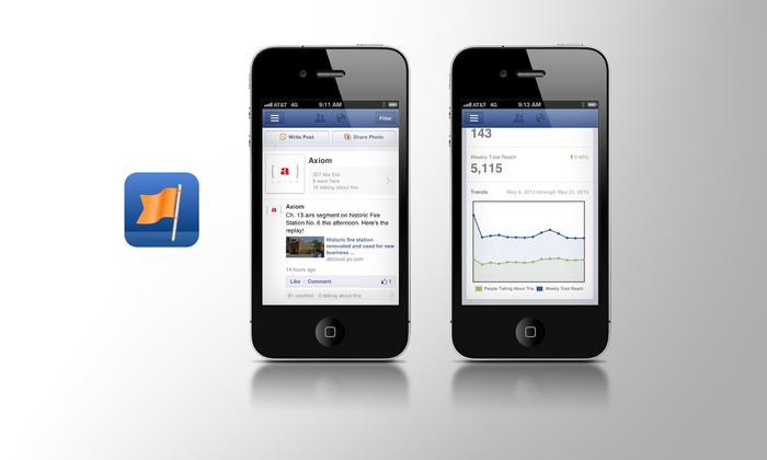 facebook pages - Facebook 9.0 cho iOS có gì mới?