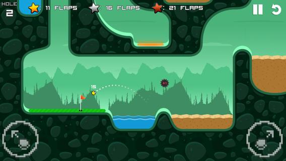 flappy golf 3 - Flappy Golf - Giải trí cùng quả bóng golf