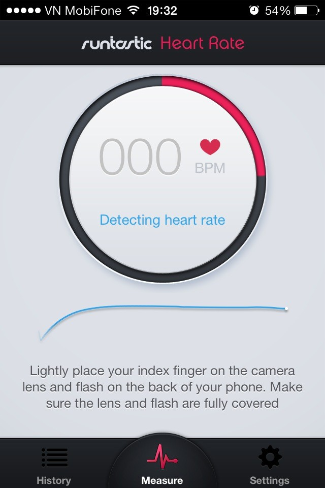 heart rate monitor 3 - [iOS] Heart Rate Monitor: Theo dõi nhịp tim trên iPhone