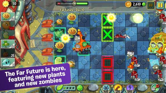 "plants vs zombies 2 - Plants vs Zombies 2 sắp ""cập bến"" Windows 8 và Windows Phone 8.1"