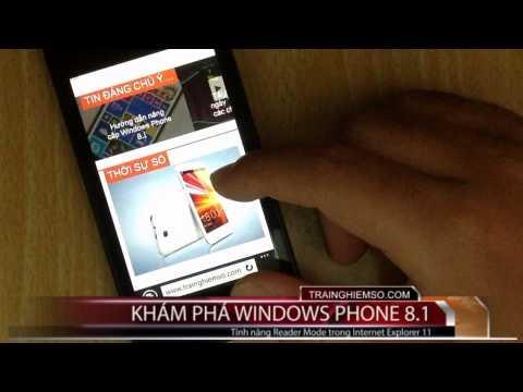 reader mode internet explorer 11 - [Video] Bật Reader Mode trong Internet Explorer 11