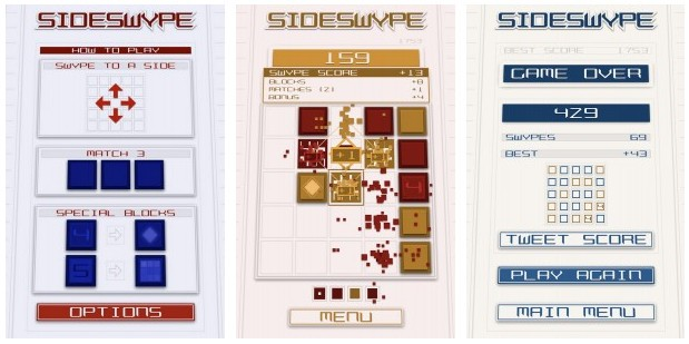 side swype - SideSwype: Game nối-3 hấp dẫn trên Android