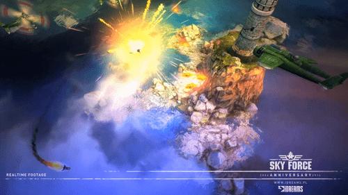 sky force 2014 - Sky Force: Tựa game kinh điển trở lại trên iOS