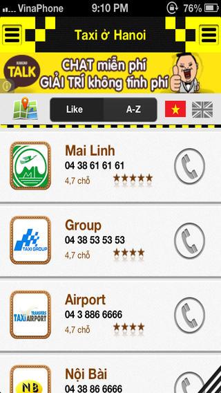 taxi 2 - Taxi và Xe tải Việt Nam