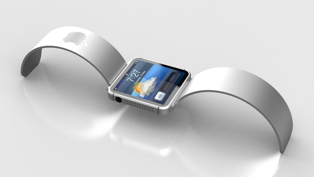 Apple iwatch Render 1 - WWDC 2014: Sẽ không có iWatch?