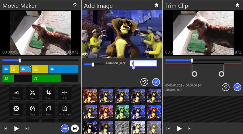 Movie Maker - Movie Maker 8.1 bổ sung nhiều tùy chọn chỉnh video
