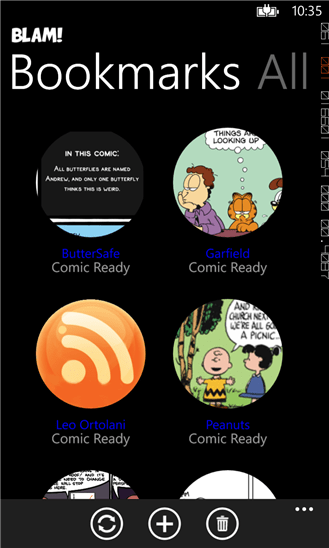 blam 1 - Blam!: Đọc truyện tranh trên Windows Phone