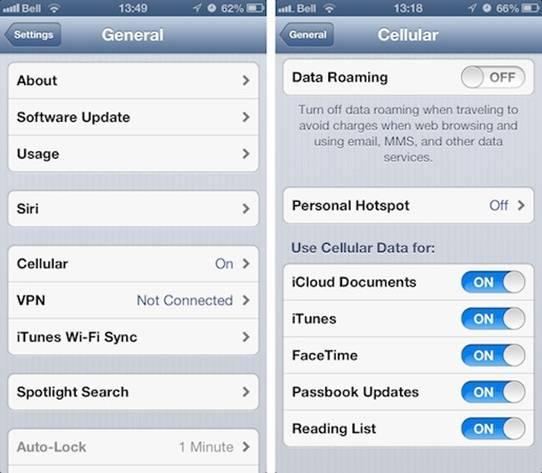 kiem soat 3g ios 1 - Thủ thuật kiểm soát dung lượng 3G từng ứng dụng trên iOS