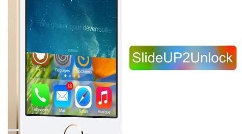 slideup2unlock 2 - SlideUP2Unlock: Vuốt ngược màn hình để mở khóa