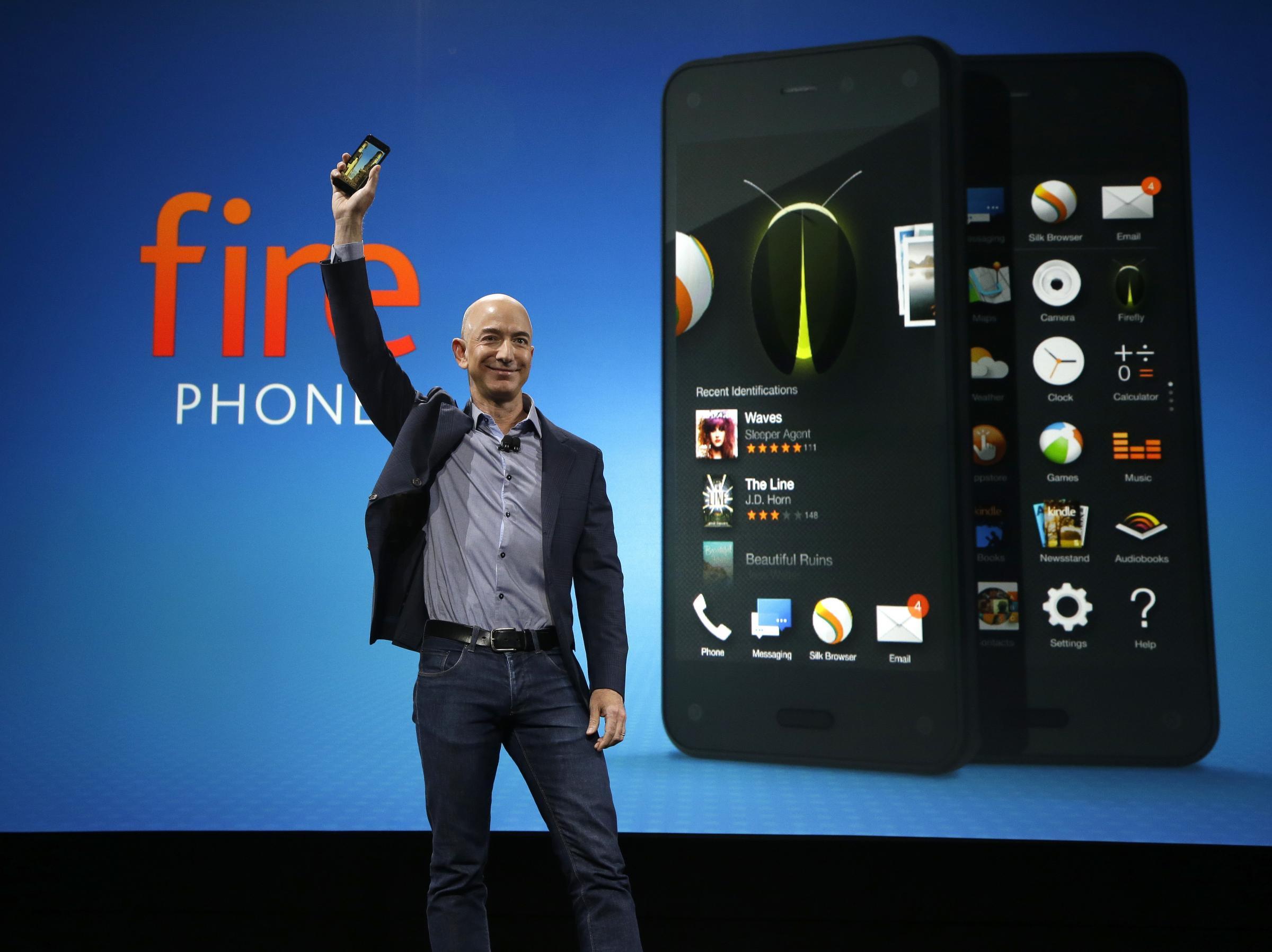amazon fire big2 - Amazon sẽ thành công với smartphone Fire?