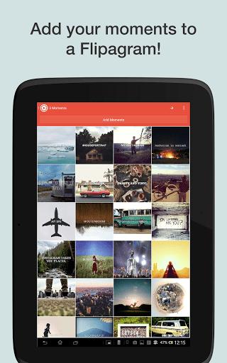 flipagram 2 - Hướng dẫn tạo video kỷ niệm từ ảnh chụp trên Android