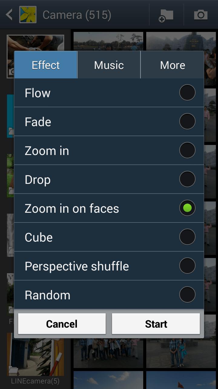 image003 - Mẹo xem album ảnh dạng slideshow trên Android