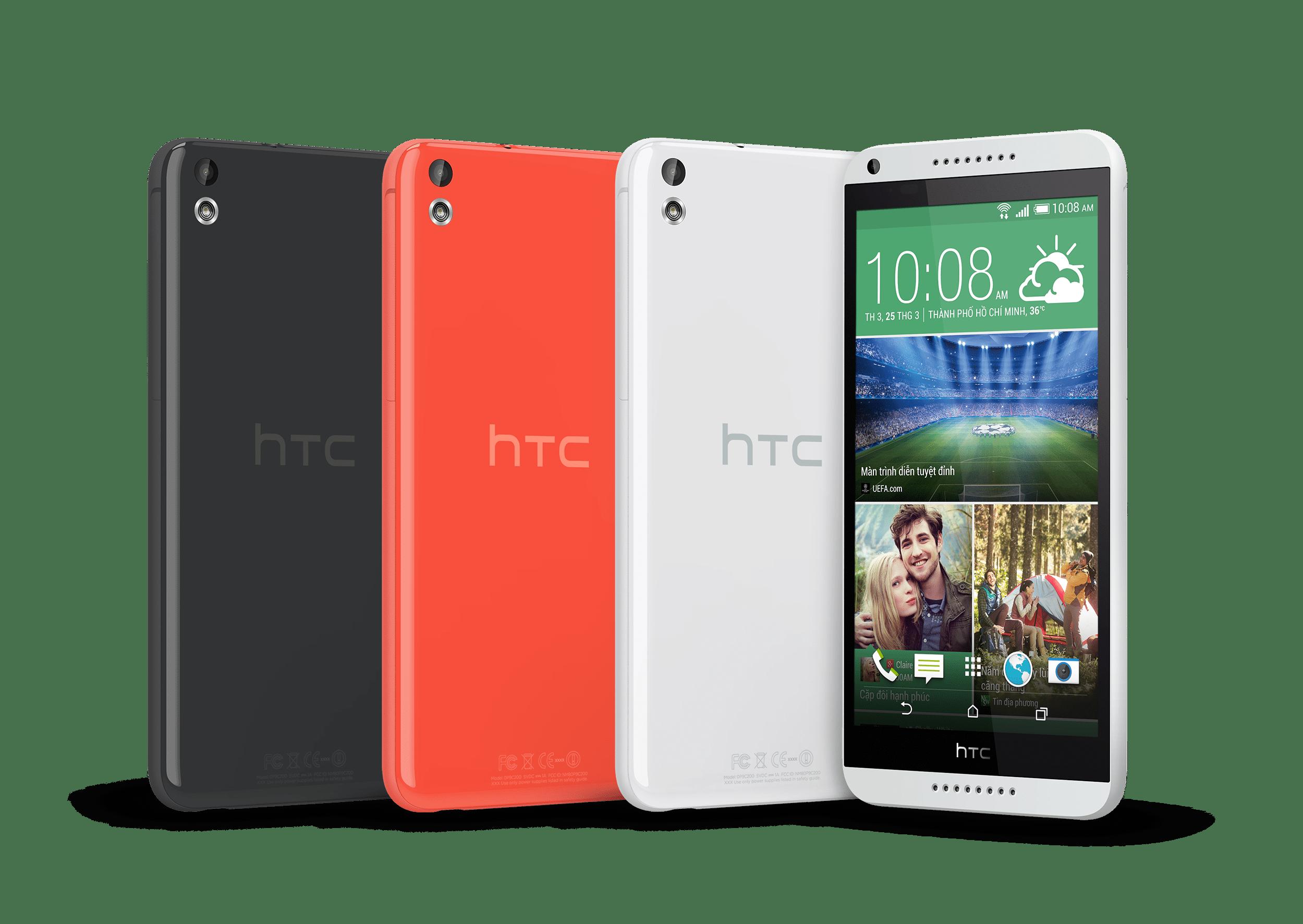 HTC Desire 8161 - HTC One M8, Desire 816 giảm giá nhẹ