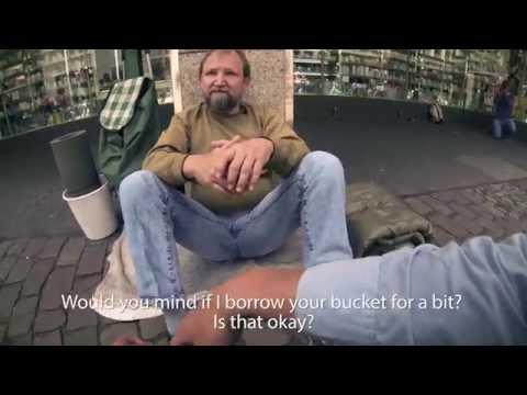 vo gia cu - Một cách ở nước ngoài người ta giúp một người vô gia cư
